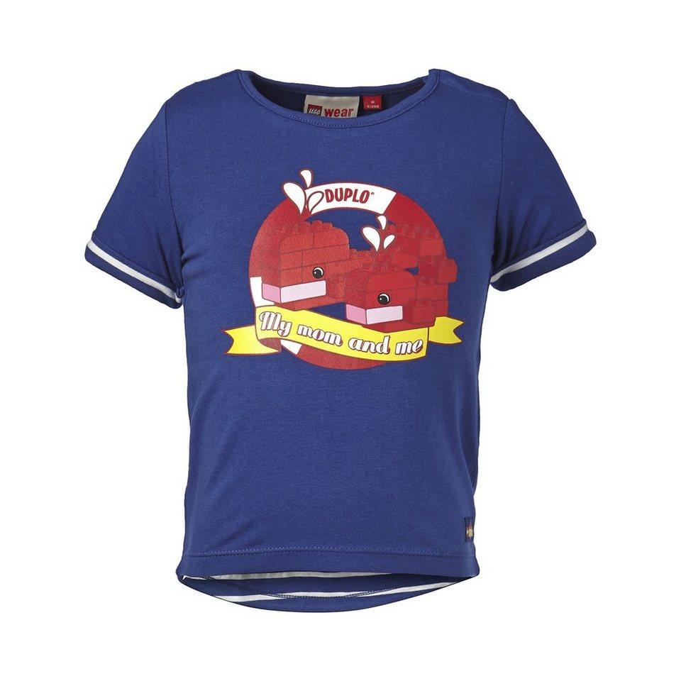 "LEGO Wear Duplo T-Shirt ""My Mom and me"" Shirt Tina kurzarm in dunkelblau"