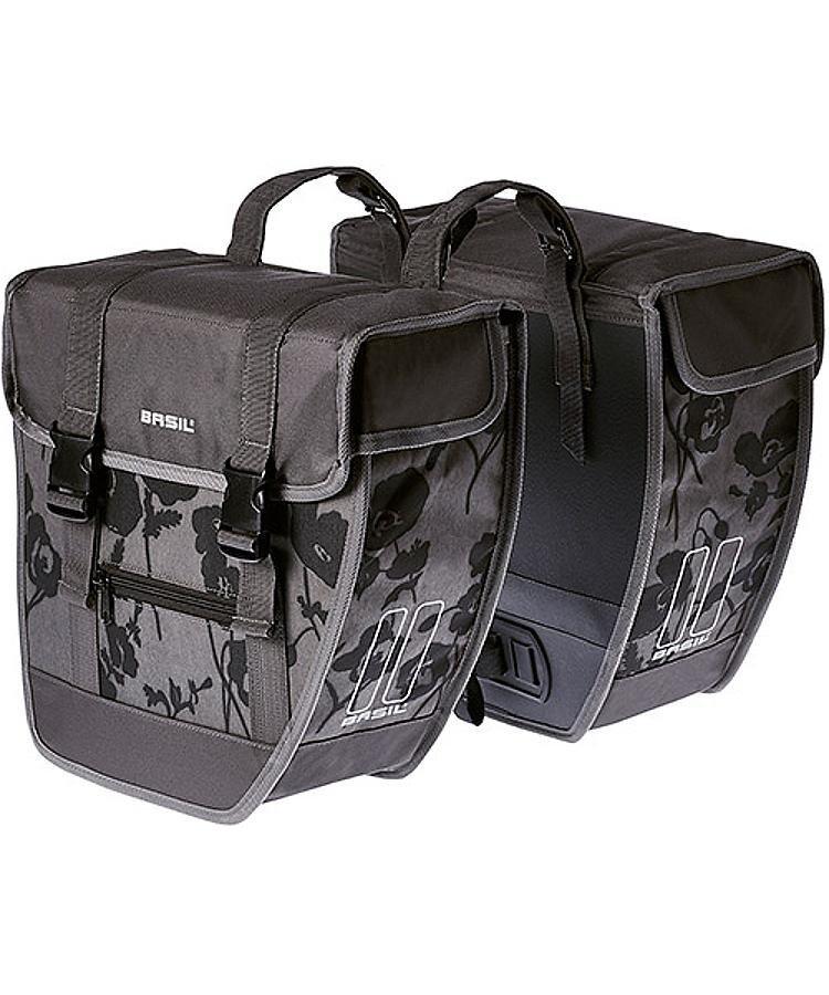 Basil Gepäckträgertasche »Tour Elegance Doppeltasche«