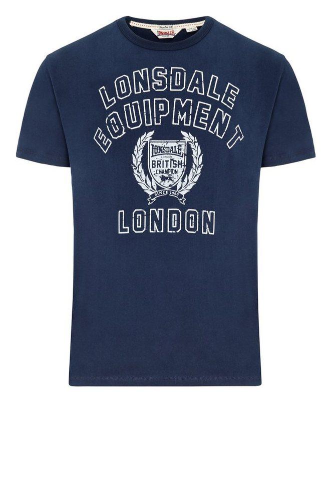 Lonsdale T-Shirt in Dark Navy