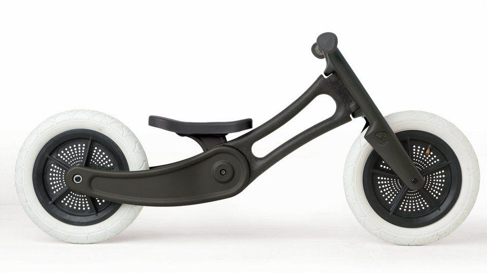 Wishbone Kinderfahrzeug »3 in 1 Design Bike Recycled Edition« in schwarz