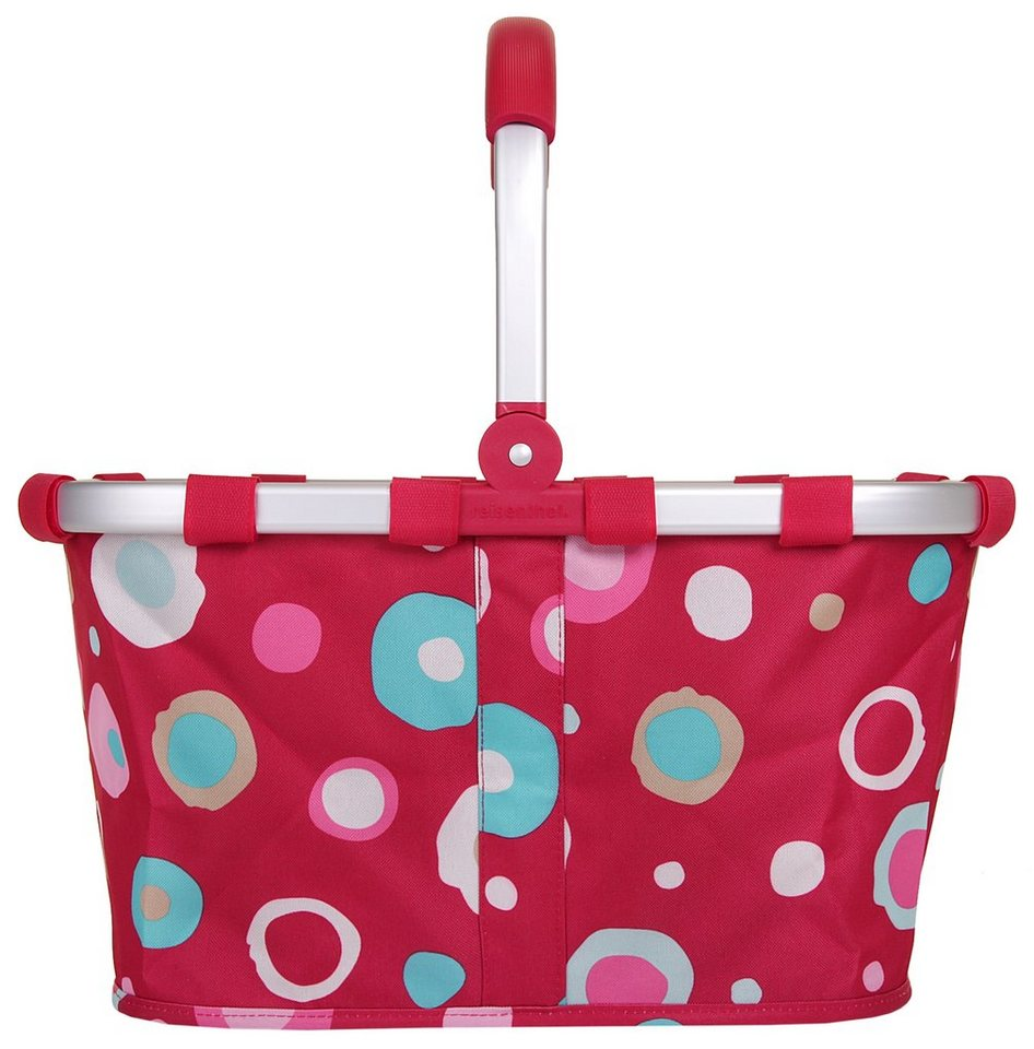 REISENTHEL® Carrybag »funky dots 2« in rot