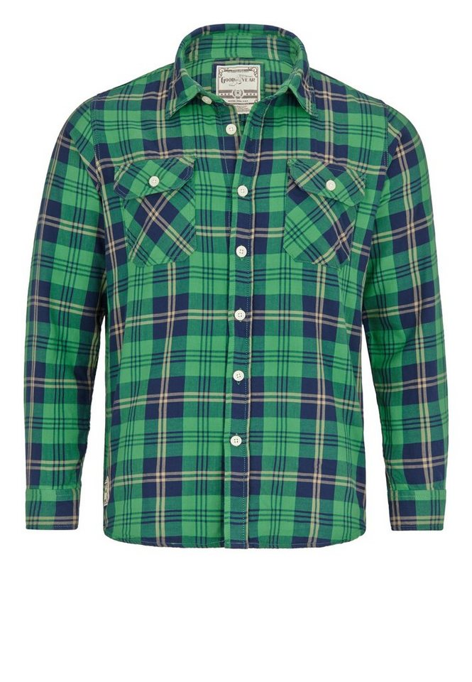 Goodyear Hemd in Green
