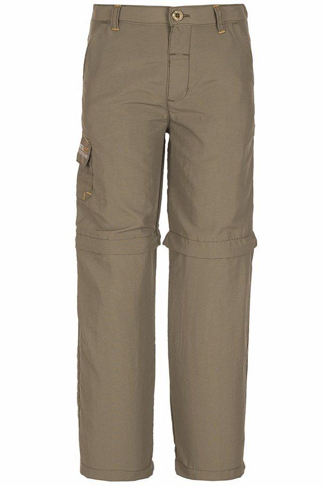 Regatta Hose »Warlock II Zip-Off Trousers Boys« in braun