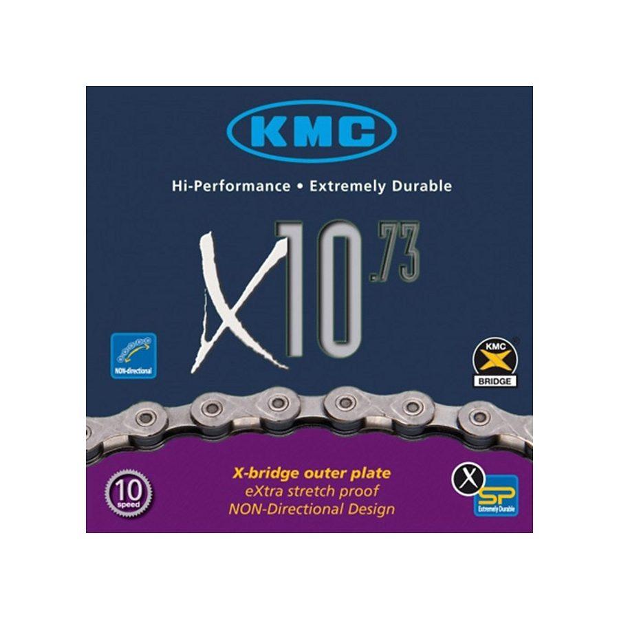 KMC Ketten »X-10-73 Kette grau/grau«
