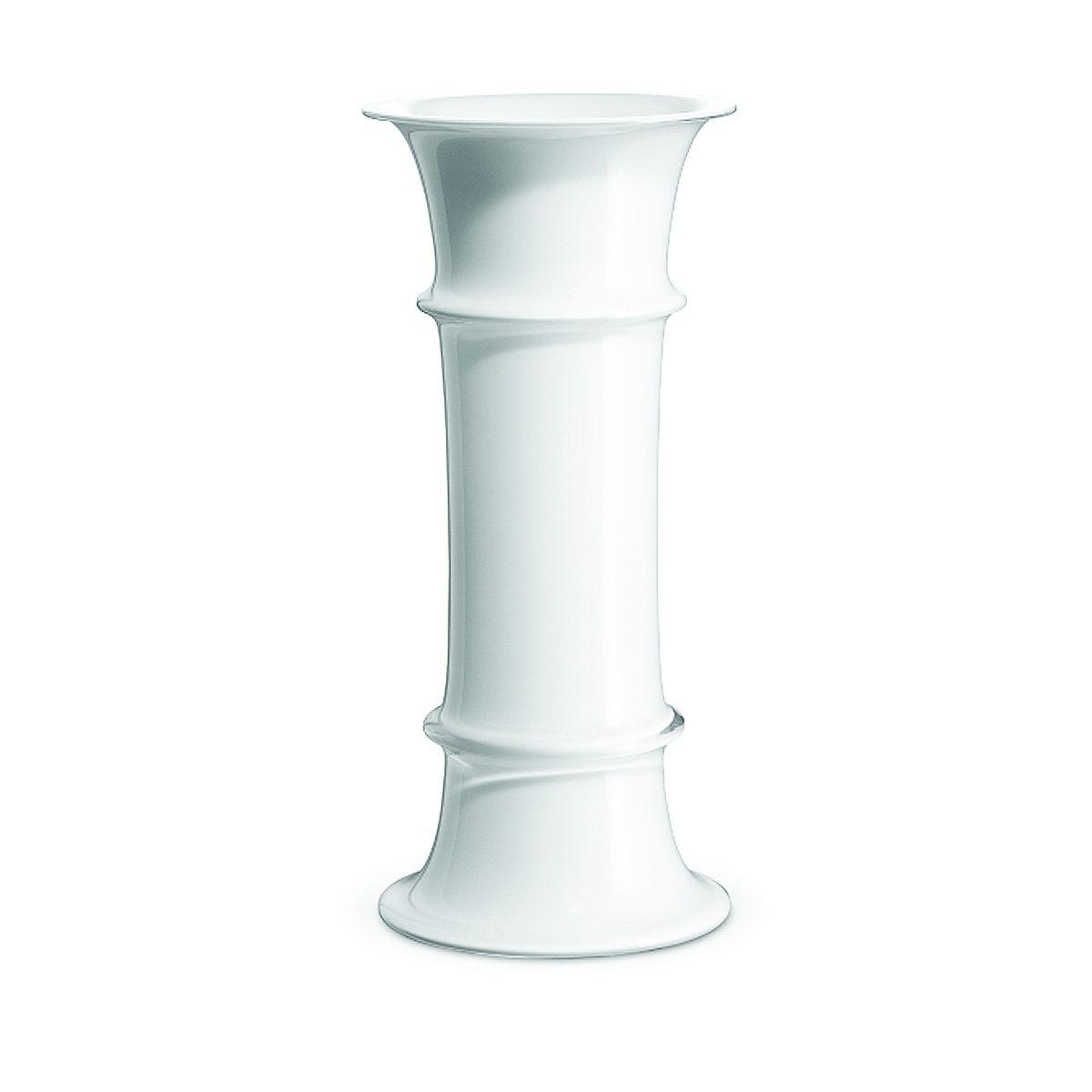 HOLMEGAARD Holmegaard Vase MB weiß, 30.7 cm