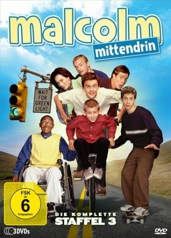 DVD »Malcolm mittendrin - Die komplette Staffel 3...«