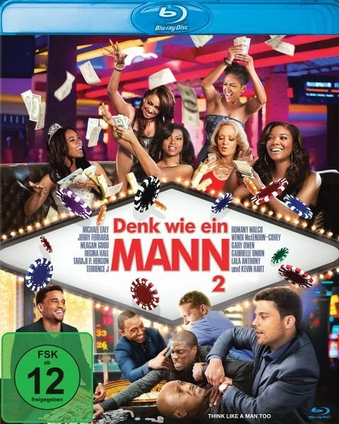Blu-ray »Denk wie ein Mann 2«
