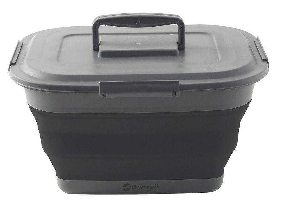 Outwell Campingtruhe & -Kiste »Collaps Storage Box L black« in schwarz