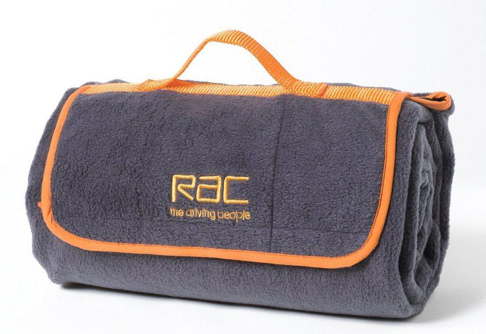 Hunde-Decke »RAC Heimtierdecke« in dunkelgrau