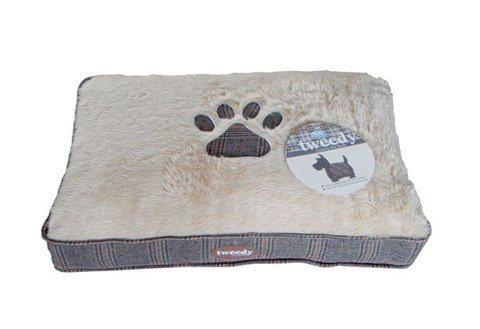 Hundebett und Katzenbett »Tiermatratze Tweedy« in beige