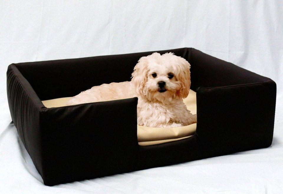 Hundesofa und Katzensofa »Classic« in braun/beige
