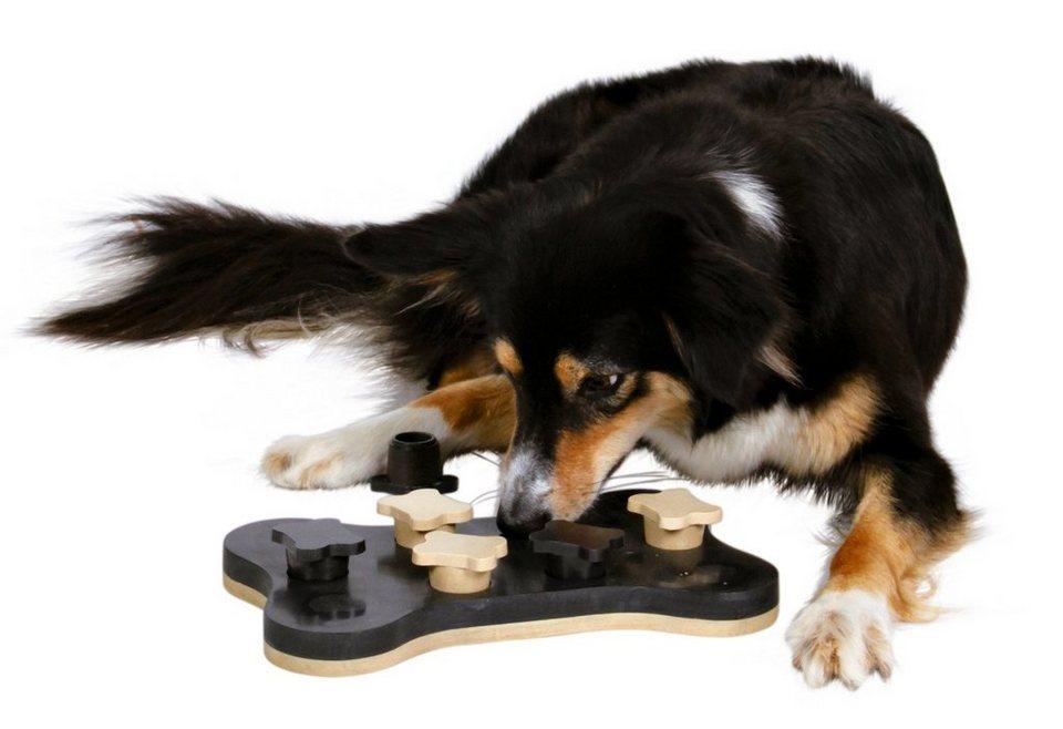 Hundespielzeug »Game Bone« in schwarz