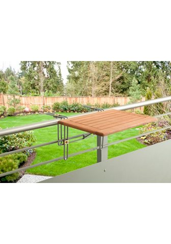 MERXX Pakabinamas balkono stalas »Holz« Euka...