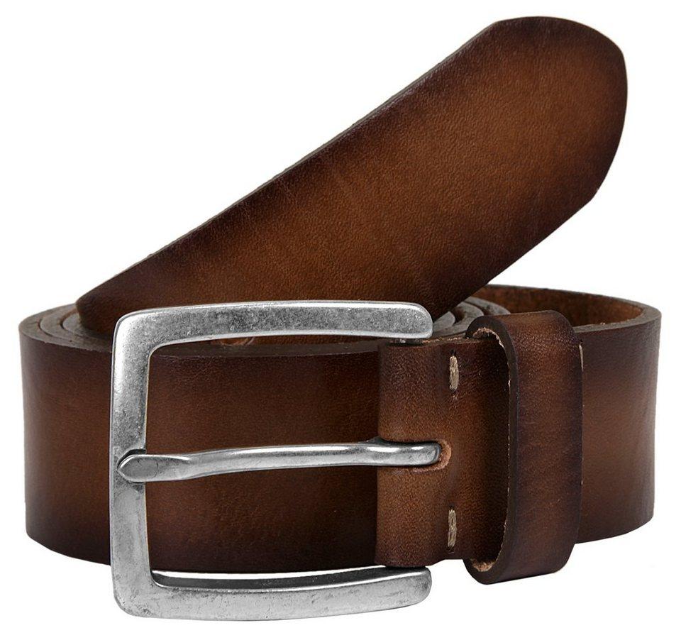 LLOYD Men's Belts Herren Leder Gürtel in braun