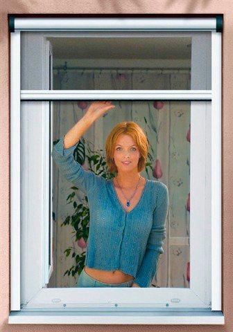 Komplett-Set: Insektenschutz-Rollo »Premium« für Fenster, weiß, individuell kürzbar