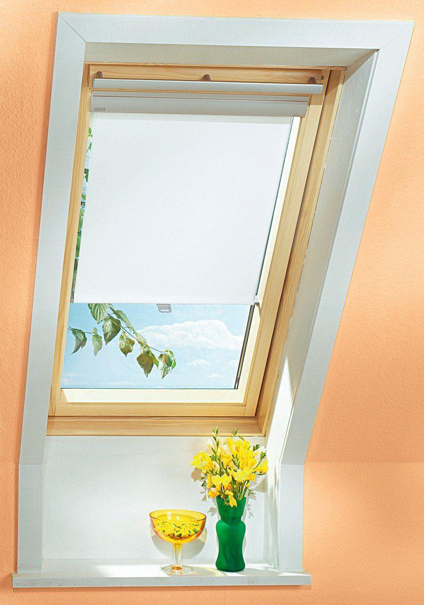 Sichtschutzrollo in weiss für Festergröße: UK04, UK08, UK10, U04, U08, U10, 808, 810
