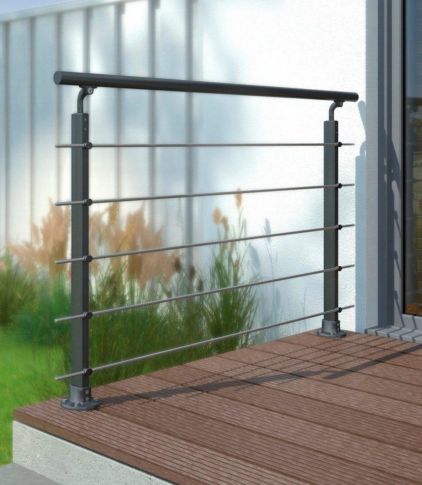 dolle gel ndersystem prova aluminium anthrazit otto. Black Bedroom Furniture Sets. Home Design Ideas