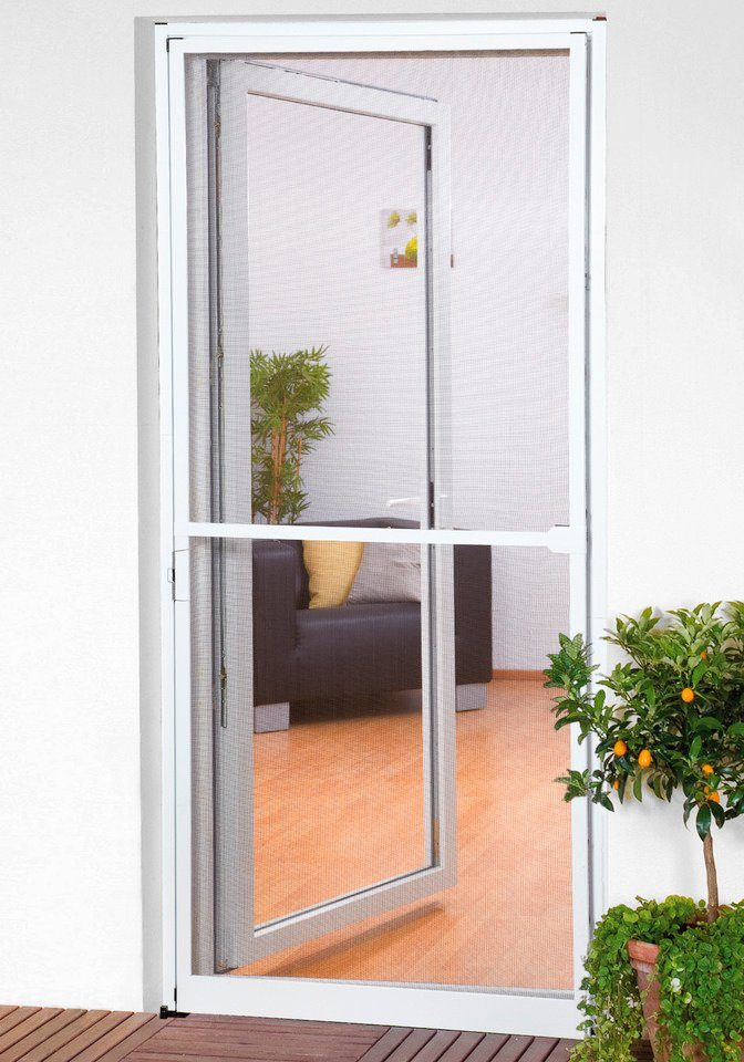 Insektenschutz-Türbausatz »Basic« BxH: 100 x 210 cm, weiß