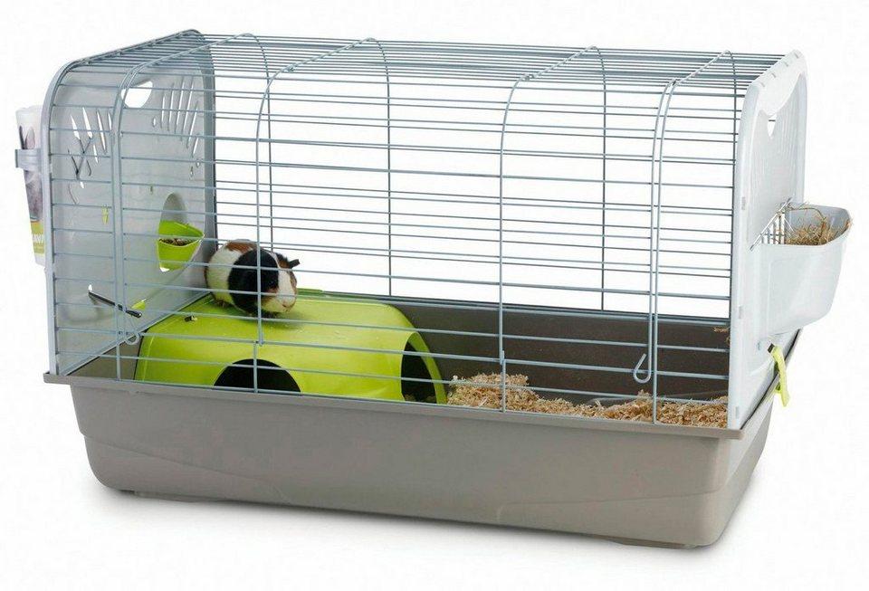 Kleintierkäfig »Caesar 2« für Hamster in grau