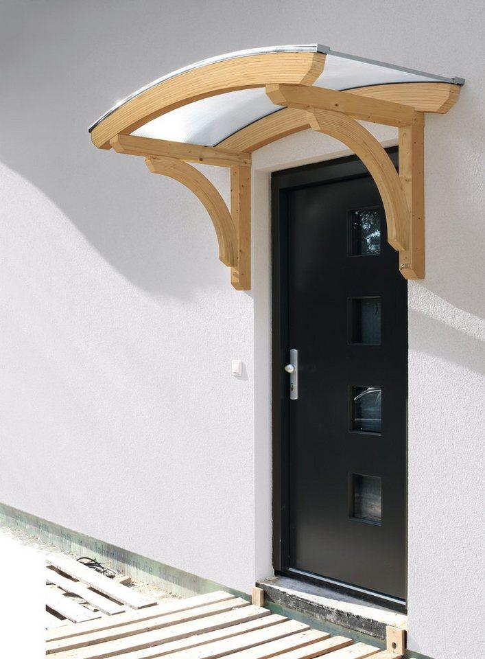 rundbogenvordach rostock bxt 174x80 cm naturfarben online kaufen otto. Black Bedroom Furniture Sets. Home Design Ideas