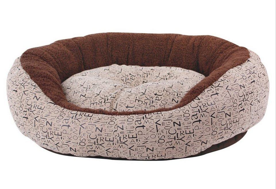 Hundebett und Katzenbett »Heimtierbett« in braun