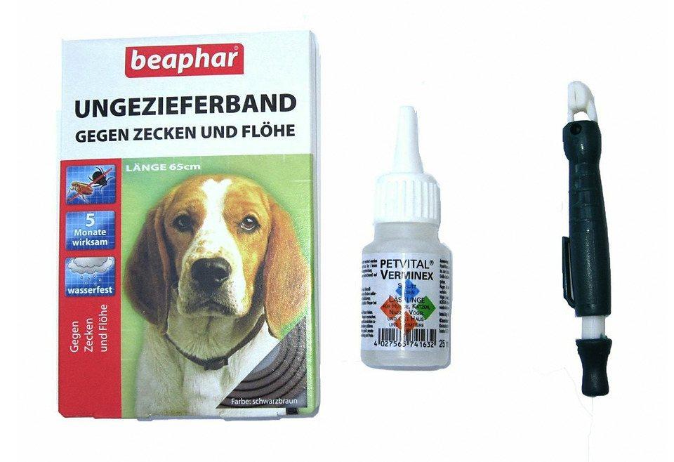 Hunde-Pflege-Set »Pet Vital-Ungeziefer-Set« in weiß
