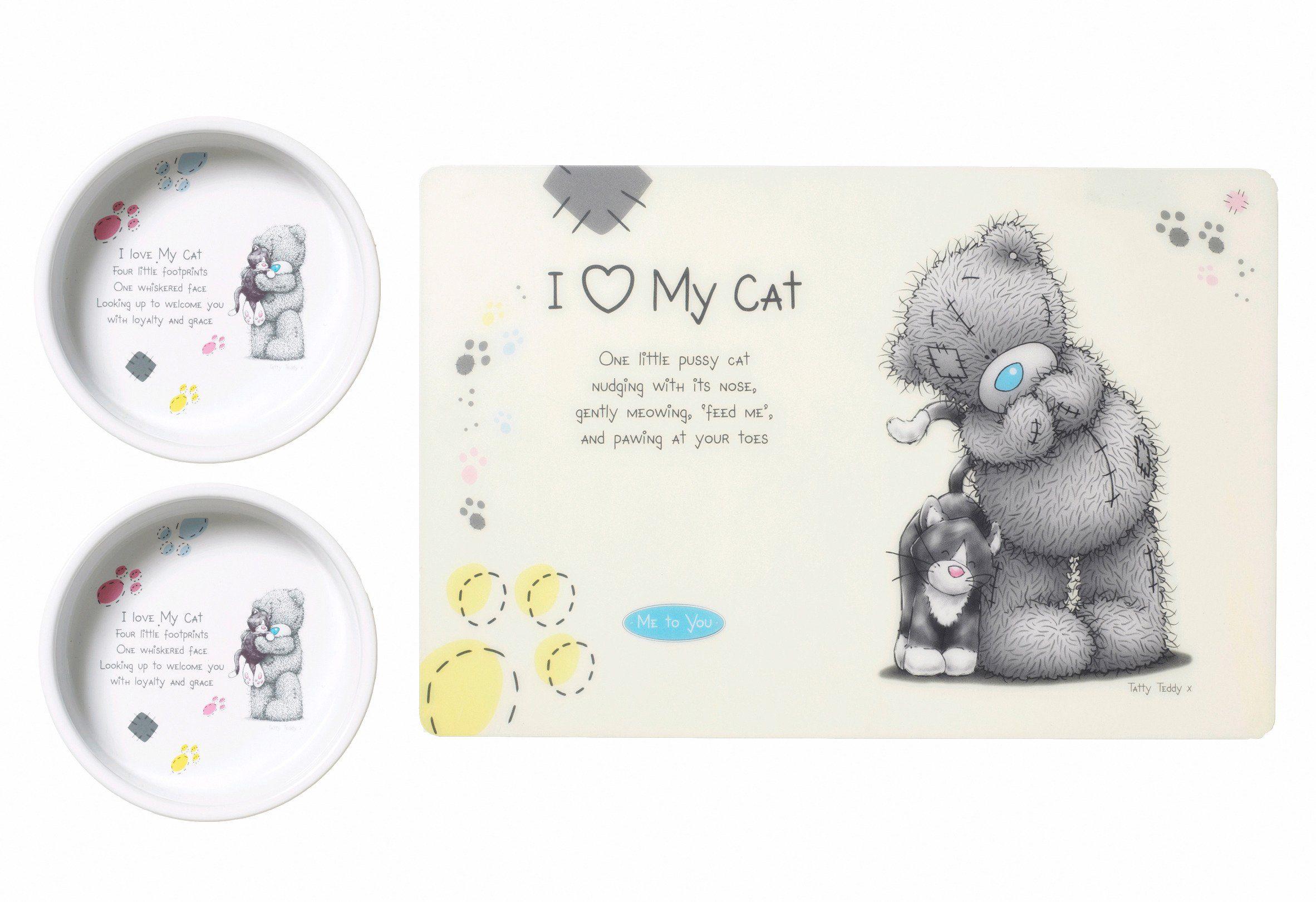 Katzen-Napf-Set »Me to You Cat 2«