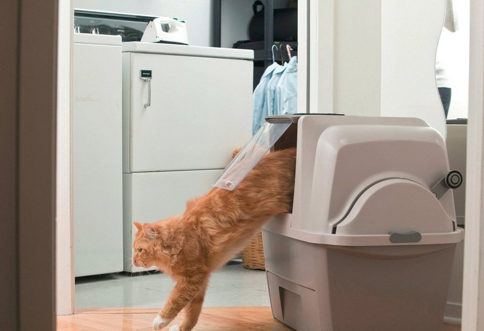 Katzentoilette »Catit Smart Sift« in grau