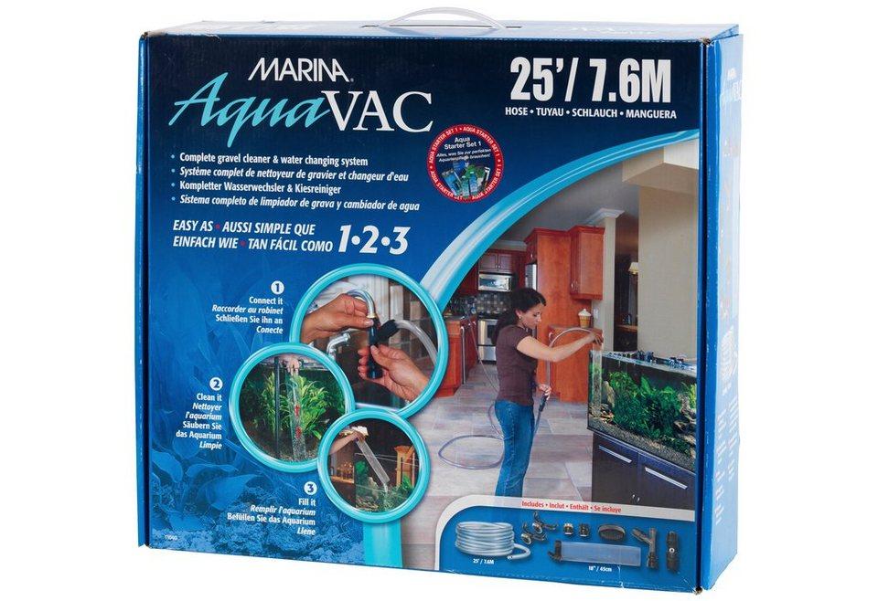 Aquariumpflege »Aqua Vac Starterpaket 1« (7,6 m) in weiß
