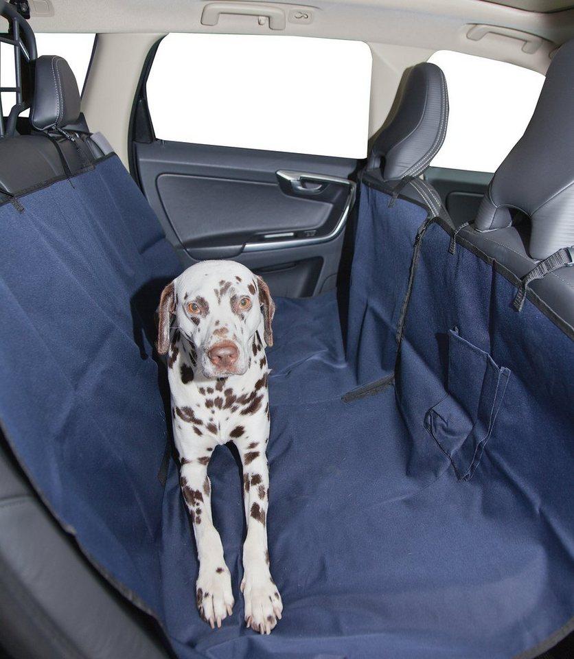 Hunde-Decke »Autoschondecke« in blau