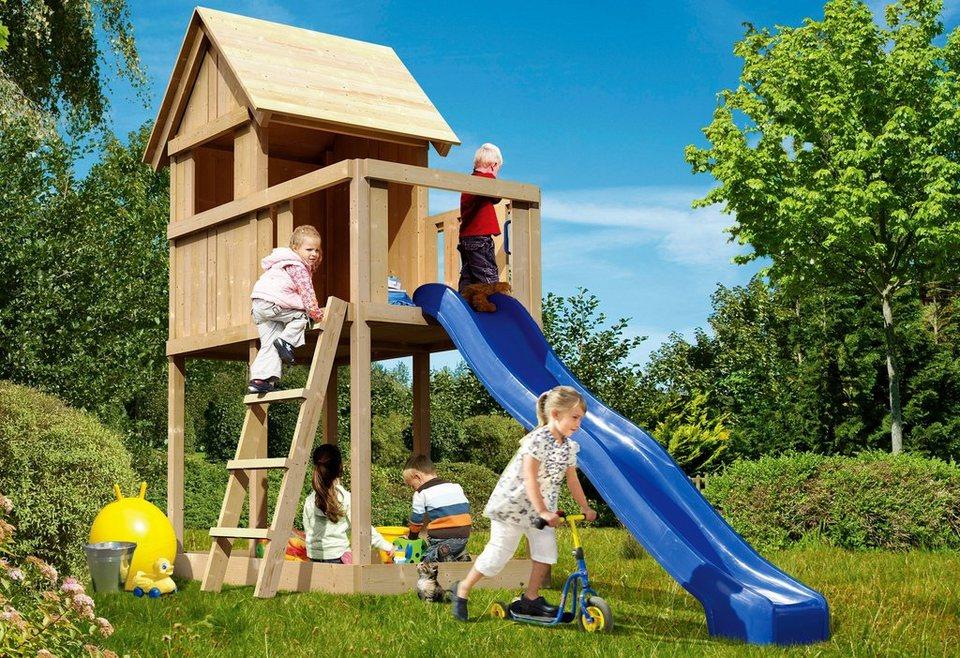 KARIBU Spielturm  Fidibus ECO , BxT: 107x107 cm