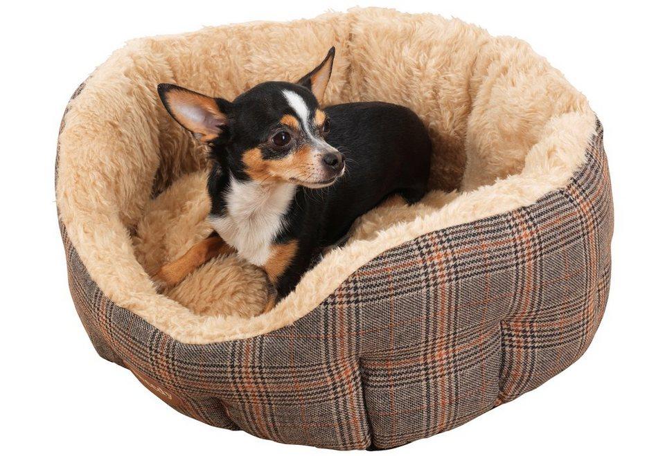 Hundebett und Katzenbett »Tweedy« in beige/braun