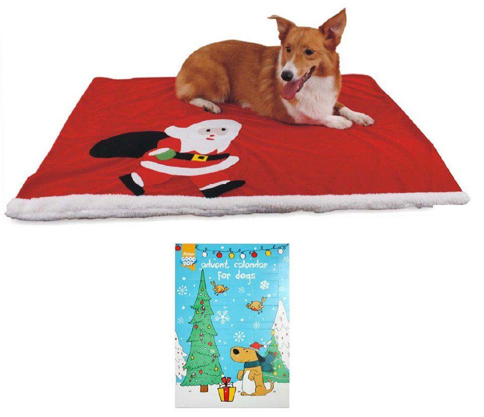 Heim Hunde-Decke »Weihnachts -Set«