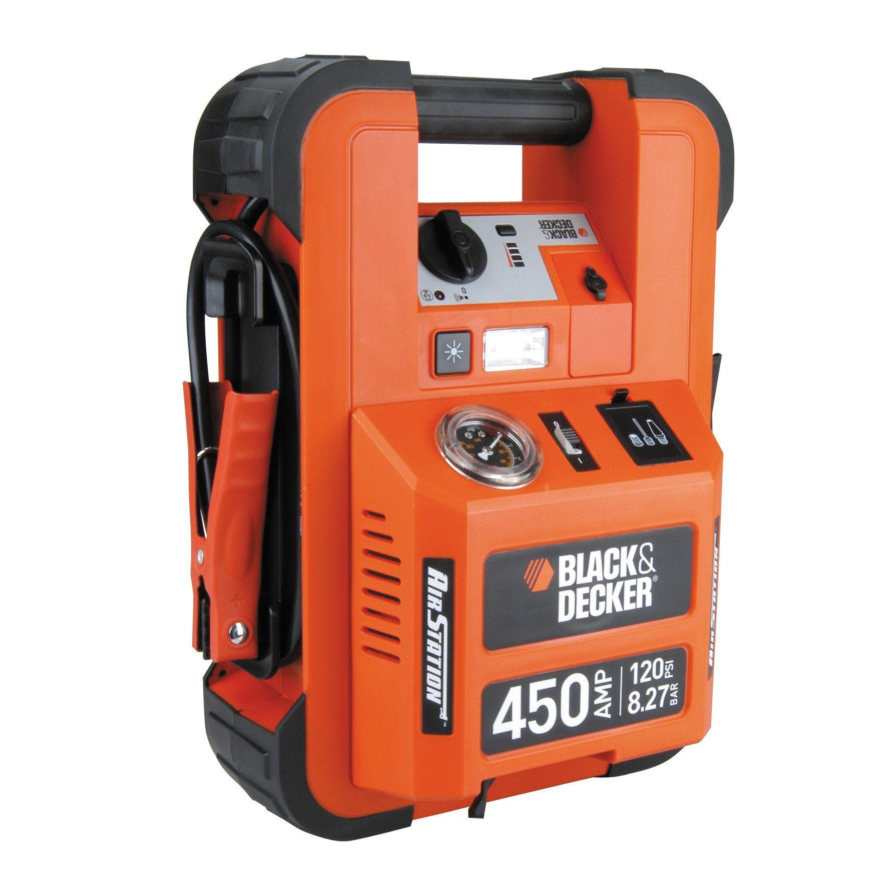Batterieladegerät »Sofort-Starthilfe 450A&Kompr 8bar«