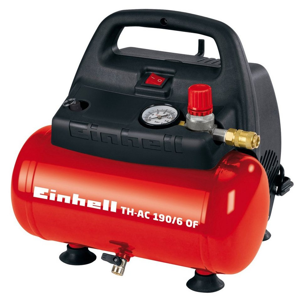 Einhell Kompressor »TH-AC 190/6 OF« in rot