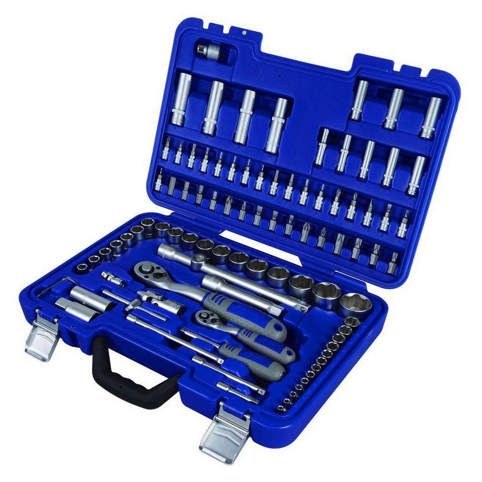 Steckschlüsselsatz »MSS-94-1/2-1/4« in blau