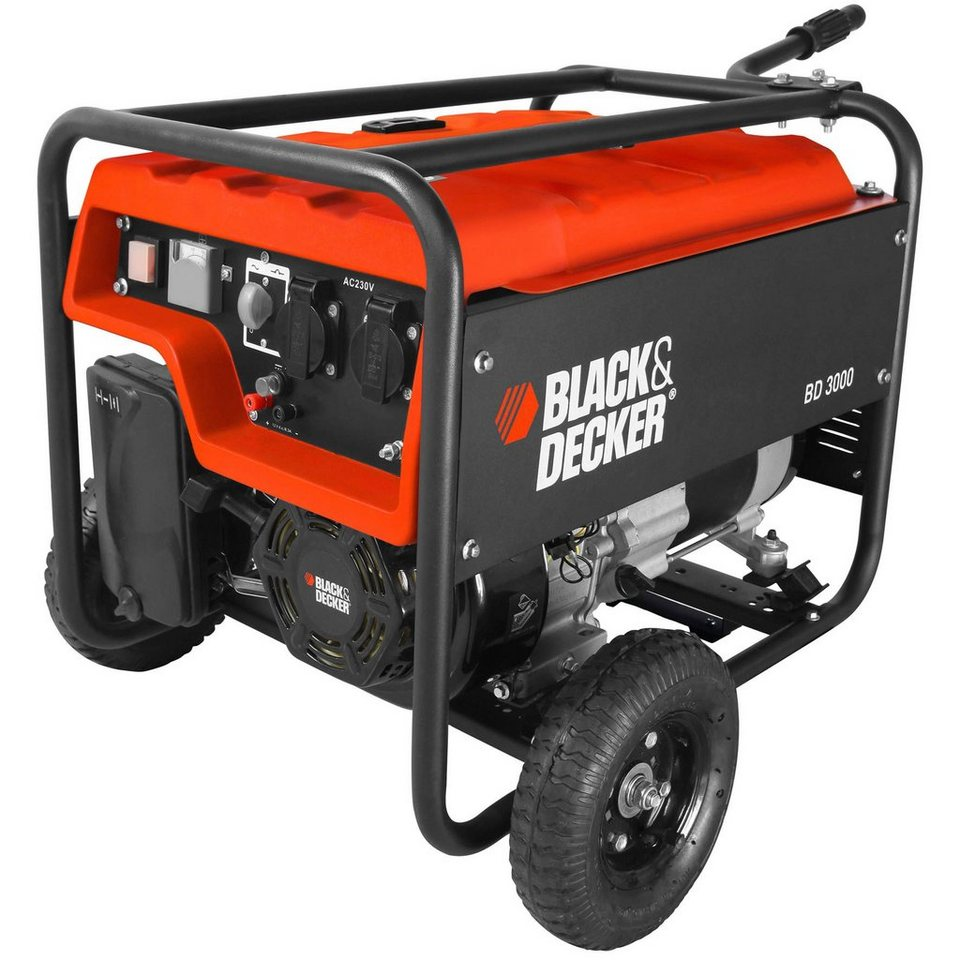 Black & Decker Stromgenerator »BD 3000« in orange