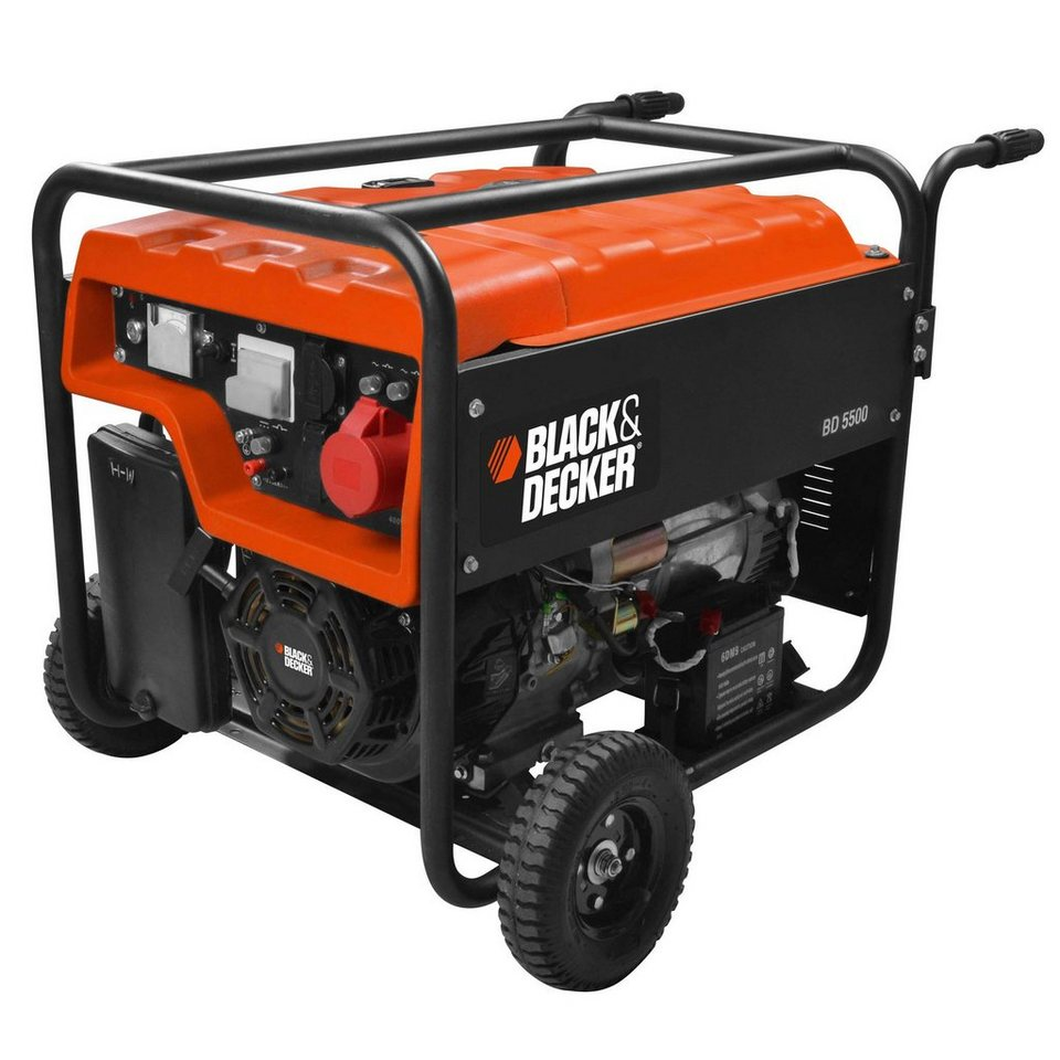 Black & Decker Stromgenerator »BD 5500« in orange