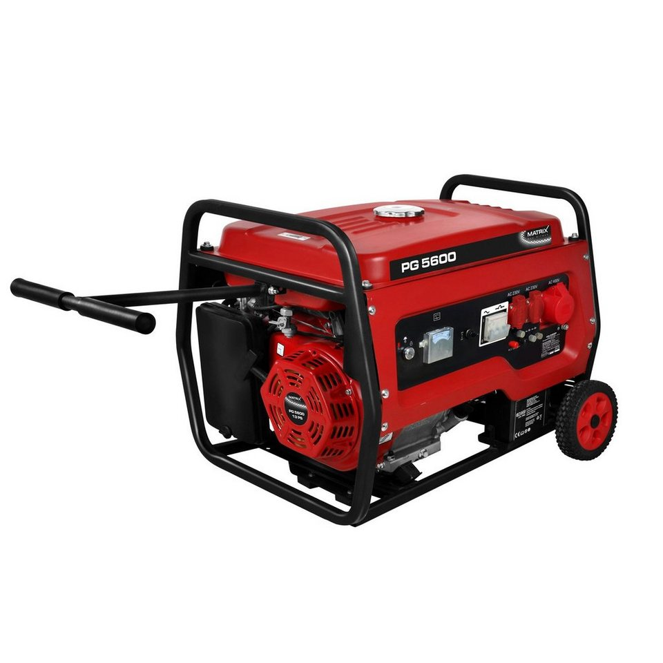 Matrix Stromerzeuger »PG 5600« in rot