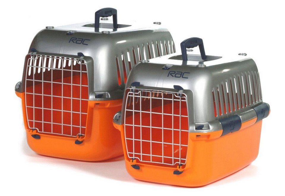 Transportbox »RAC« in orange, silberfarben