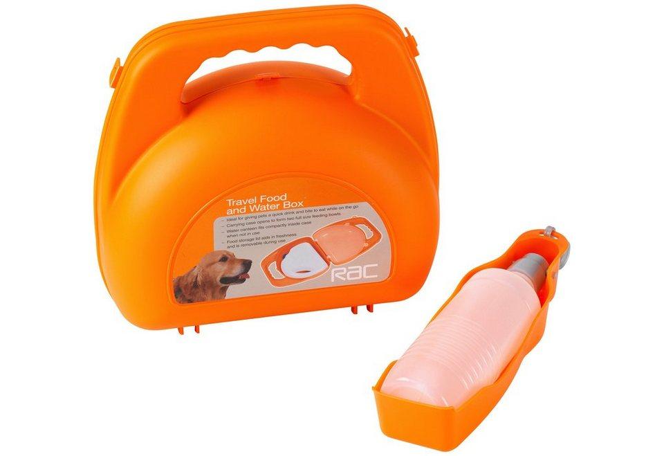 Hunde-Reiseset »RAC Reiseset« in orange