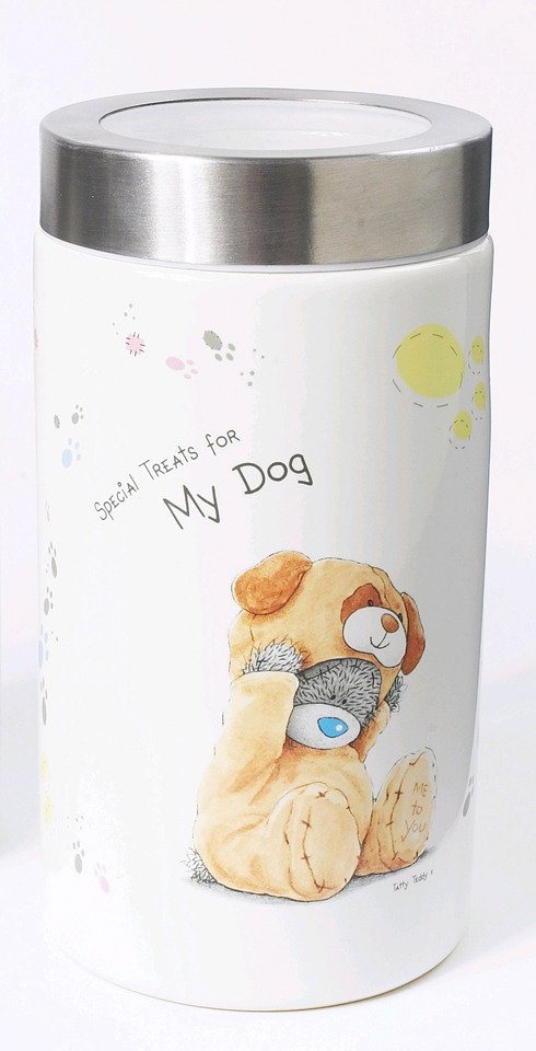 Hunde-Futterbox »Me to You« in weiß