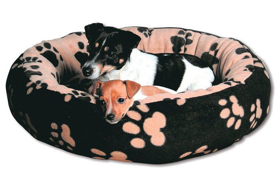 Hundebett und Katzenbett »Sammy« in schwarz/beige