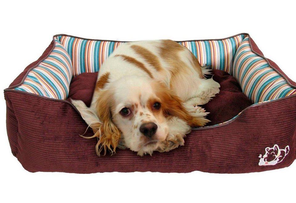 Hundebett und Katzenbett »Heim-Star« in braun
