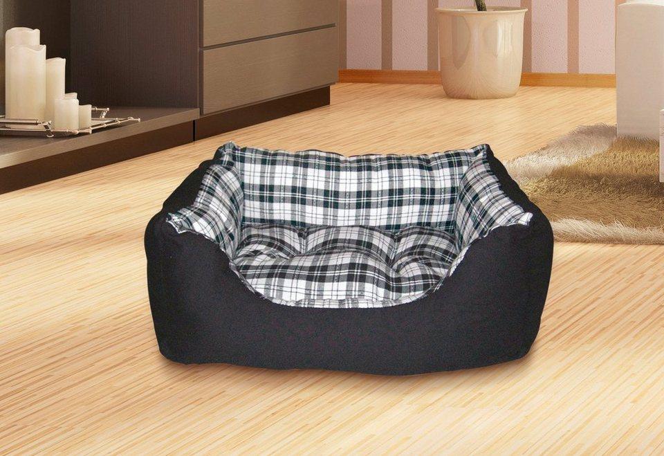 heim hundebett und katzenbett mit herausnehmbaren kissen. Black Bedroom Furniture Sets. Home Design Ideas