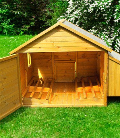 Hühnerstall »Umrüstungsset für Kleintierstall«