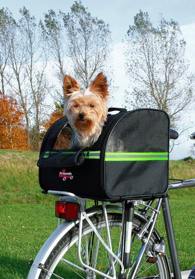 Trixie Fahrradtasche »Biker-Bag« in schwarz