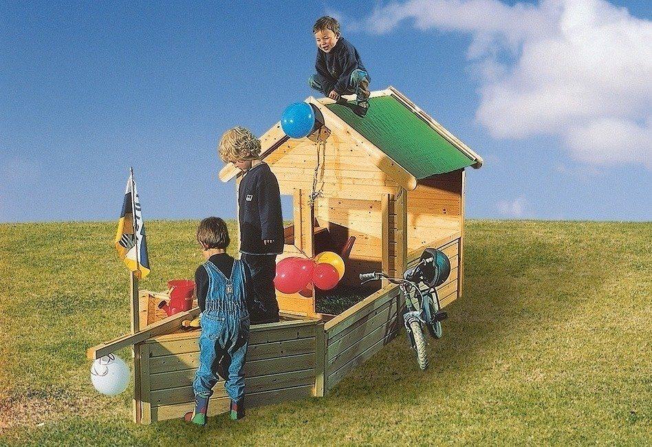 Spielschiffanbau »Pirat« für Spielhaus »Hobbit«