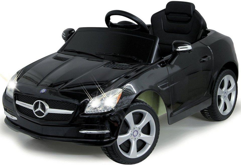 jamara kids elektroauto ride on mercedes slk schwarz. Black Bedroom Furniture Sets. Home Design Ideas