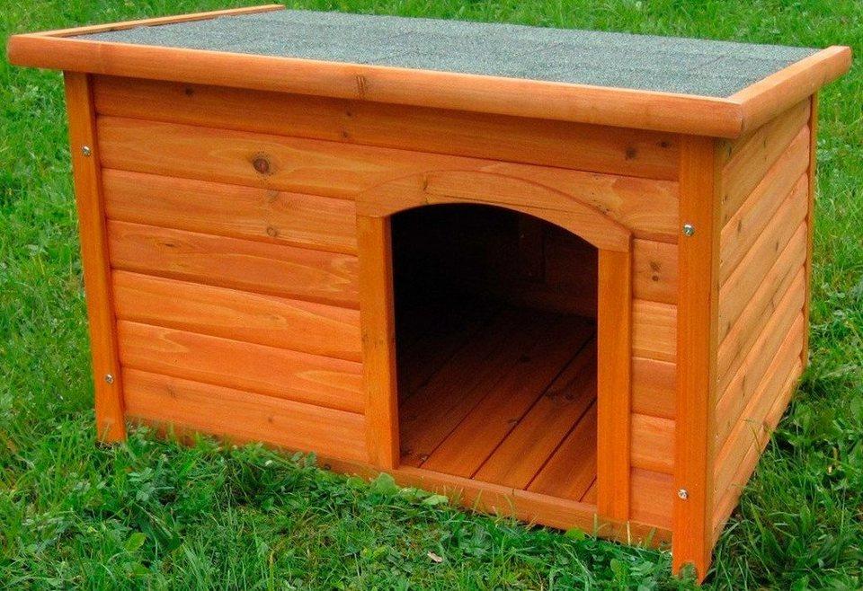 hundeh tte mit flachdach online kaufen otto. Black Bedroom Furniture Sets. Home Design Ideas